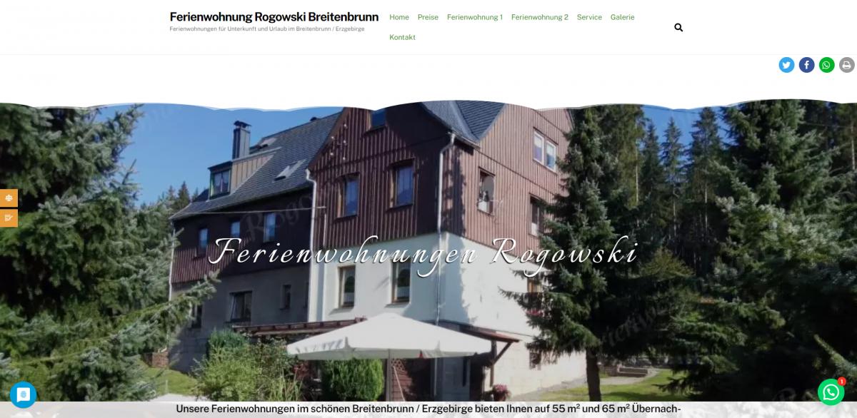 Ferienwohnung Rogowski Breitenbrunn – Ferienwohnungen für Unterkunft und Urlaub im Breitenbrunn _ Erzgebirge - www_erzgebirgs-fewo_de